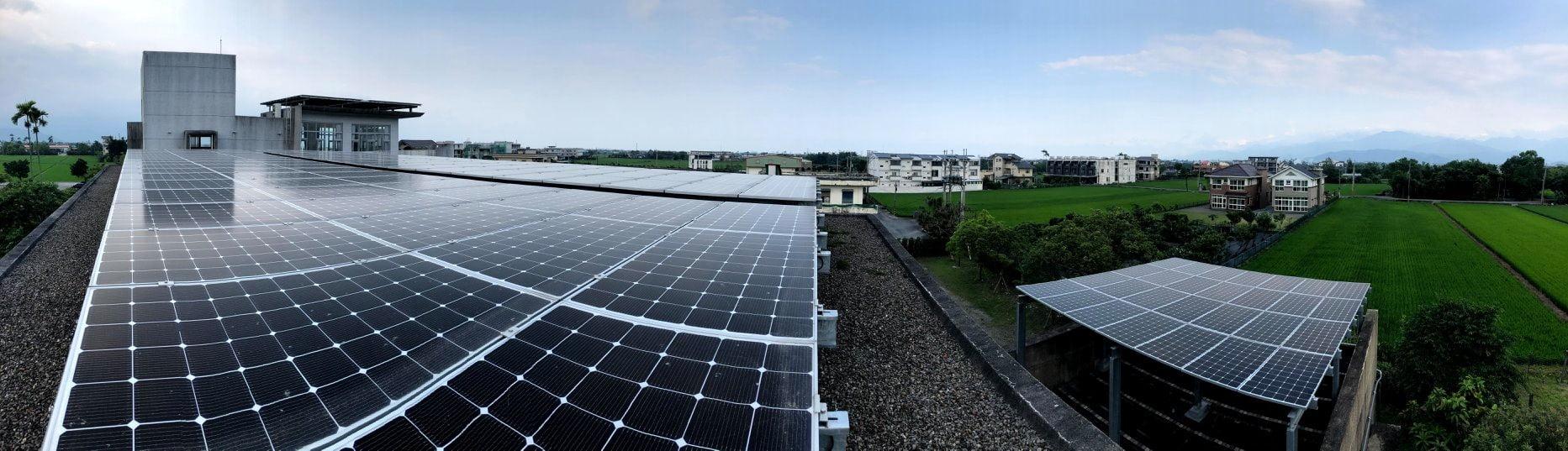 太陽能發電-蘭陽平原