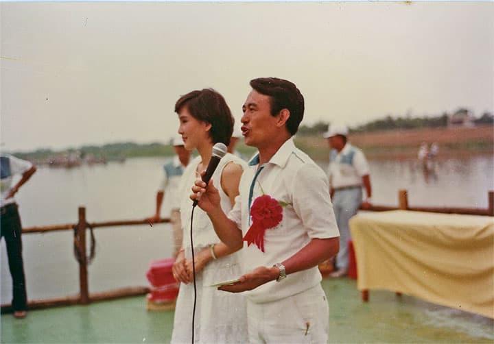 1983冬山河端午節龍舟賽1
